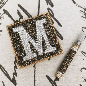 NEW ♦︎ BLINGED OUT NOTE PAD&PEN